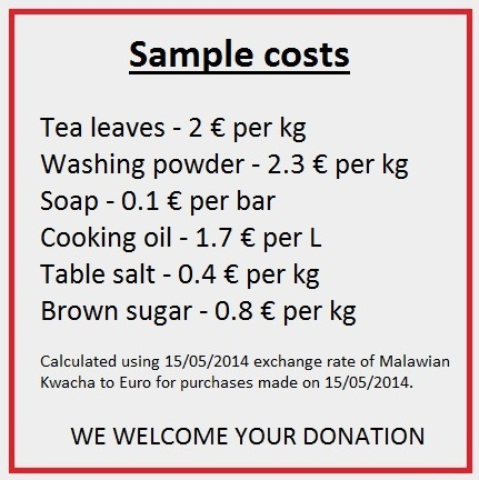 Sample costs